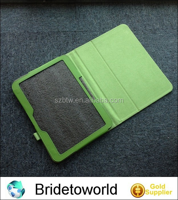 New stand leather case for samsung galaxy Tab 3 p5200 leather cover