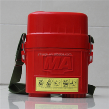 Top Quality PortableSmall Mini Mining Self Rescuer Respirator Filled With Compressed Oxygen