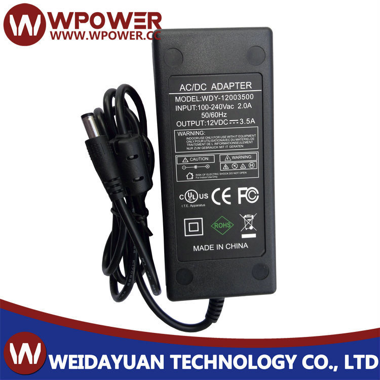2015 hot-sell Universal AC DC Power Adapter 12V 3.5A