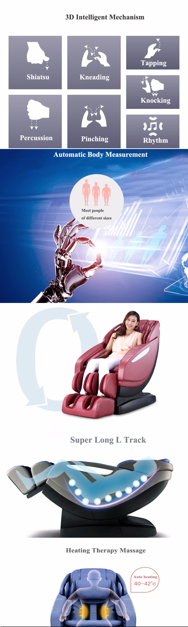 Hot Sale Smart Vibration Sofa Massage Chair IN Office