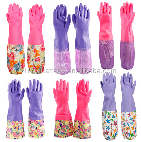 Powder Latex Medical Exam Gloves Or Powder Free Latex Gloves For Hospital