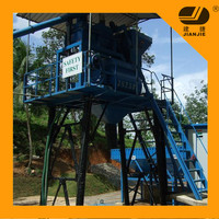 HZS35 Automatic Ready Mixed Concrete Batching plant factory