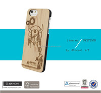 2016 Handmade for wood iphone 5 case,for wood iphone 6 case ,for wood case iphone 6 5 with logo engraved