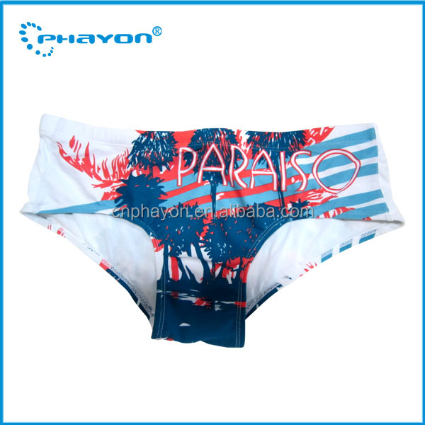 Custom Men Swim Briefs Wholesale Mens Swimwear Printed Brief Shorts