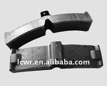 composite train brake shoes for railway road