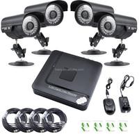 Security 8CH DVR 1200TVL Outdoor 720P AHD Surveillance 4CH CCTV Camera System