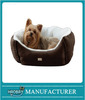 Animal Supplies Micro Suede Pet Bed, Brown