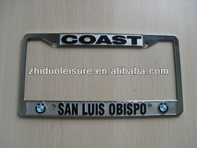 license plate frame,American standard license plate frame,car number plate frame(BMW)