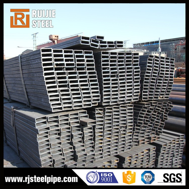 tube steel sizes , rectangular/square pipe , ms pipe 100mm