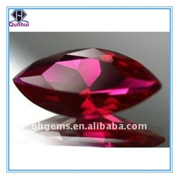 Marquise Shaped red Corundum # 5 Loose Stone