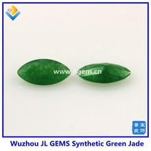 green marquise 8*4mm created gems malay jade stone price