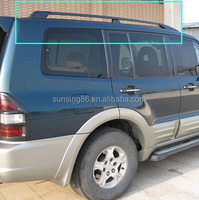 SUV Roof side rails racks cross bars pajero sport accessories