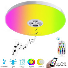 APP Mobile Control RGB Bluetooth Surface Mounted Ceiling Led Smart Lighting