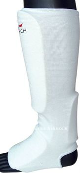 Cotton shin instep guard for Martial Arts training