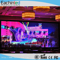 New P4 night club decoration LED curtain display for stage