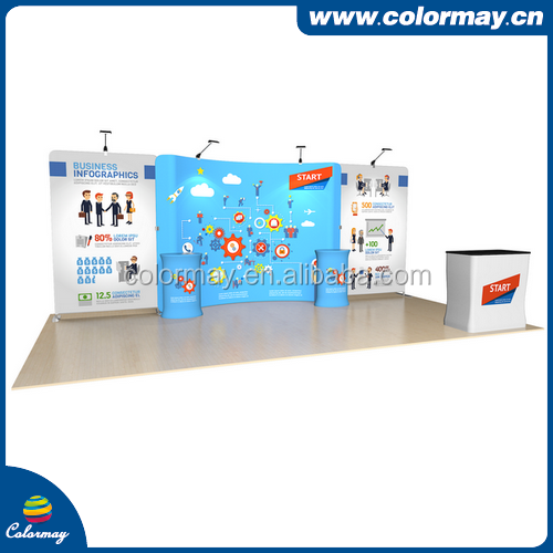 10x10 pop up display booth exhibition