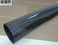 0MM X 8MM X 330MM 100% Carbon fiber Wing tube Tail boom quadcopter arms 3K