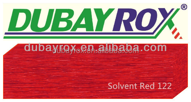 Metal Complex Solvent Dyes Solvent Red 122 for Wood Coating