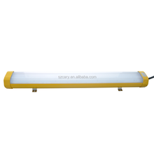 High Efficiency UL844 Class 1 Division 2 Industrial 50W LED Explosion Proof Linear Light for Paint Spray Booth Lighting