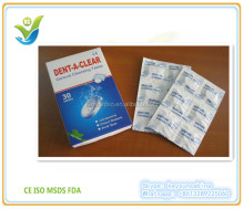 Reactive Oxygen Species Disinfectant Denture Cleansing Tablet