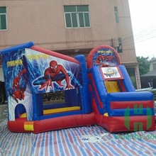2017 New design inflatable spider man bouncy castle,inflatable bouncer slide,inflatable jumping bouncer