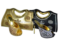 2015 Wholesale High Heel African Shoes And Bags Dress Shoes And Matching Bags MG0011