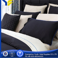 queen bed hot sale satin fabric anti-bacteria negative ions 3 bedding sets