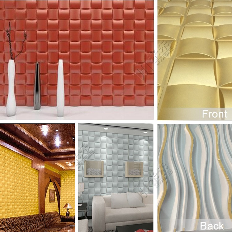 Bathroom Waterproof Art Heat Insulation Non Toxic 3d Interior Wall Covering Panels Buy 3d