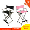 Comfortable beauty salon chair fashionable styling make up chair, metal frame cheap folding director chairs