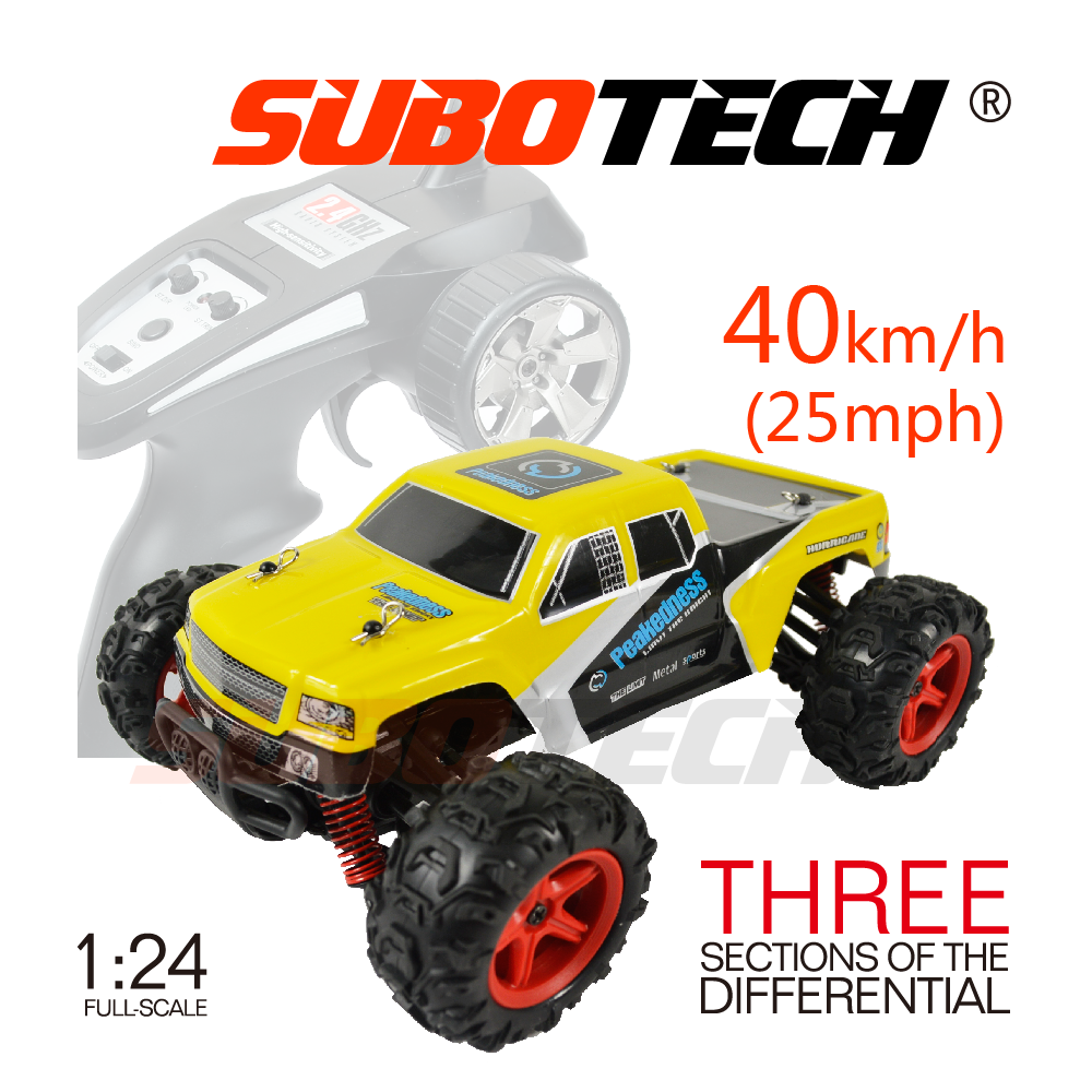 Full-scale 1:24 Little High Speed Scale Model Car, USB Controlled RC Drift Car For Kid