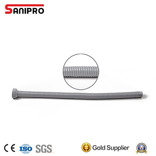 Plastic flexible kitchen sink drain pipe for bathtub