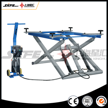 Mid rise mobile outdoor scissor car lift with CE for sale