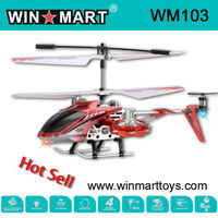 WM103 Mini 4Ch Alloy AVATAR RC Helicopter with light