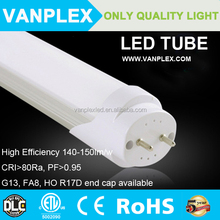 UL DLC listed 5 years warranty 100-277V AC ballest compatible led tube lighting t8