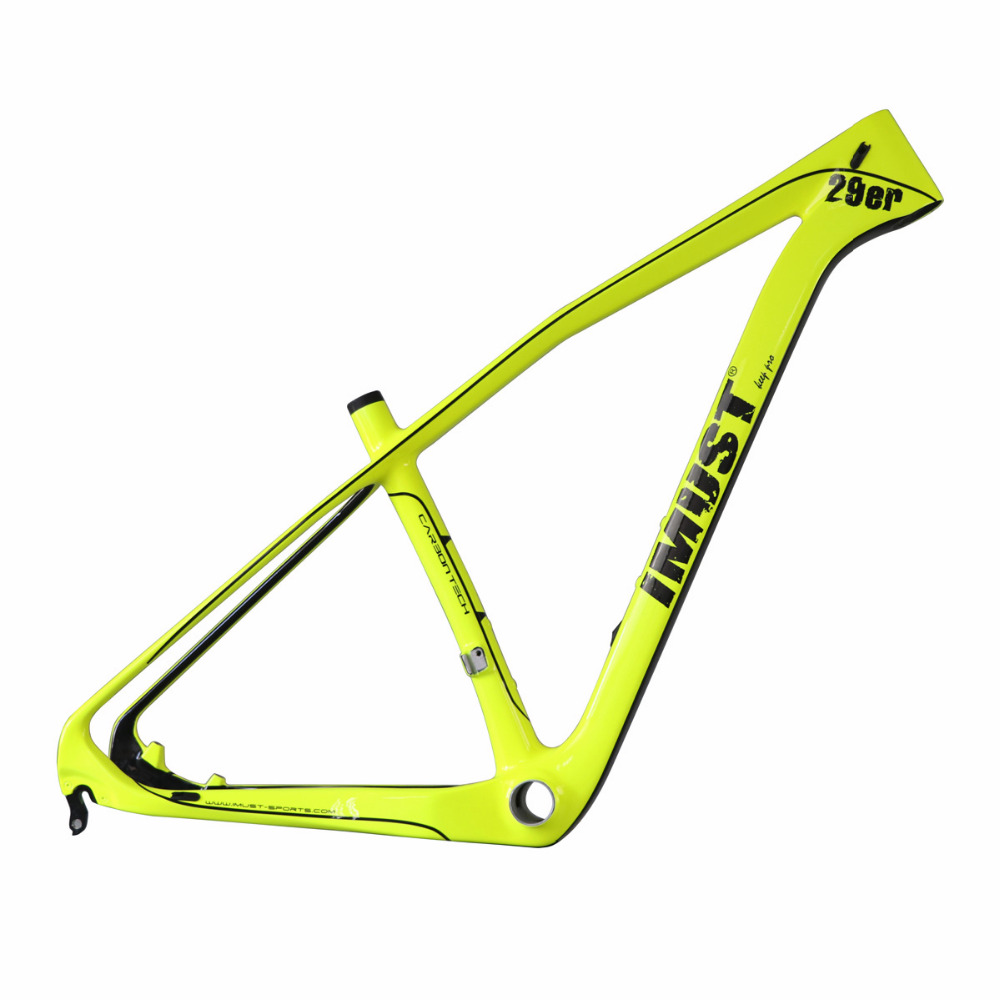 Monstercross IMUST bike carbon bicycle parts 29er mountain bike carbon hardtail frame