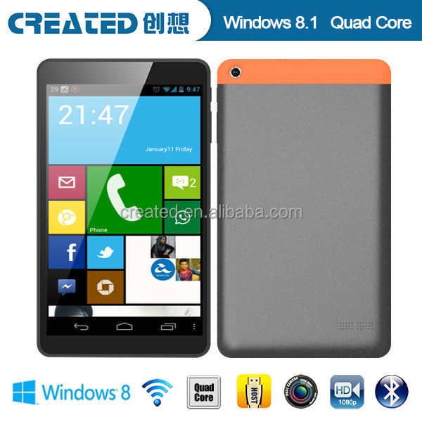 8 inch wifi network bluetooth windows 8.1 os tablet pc