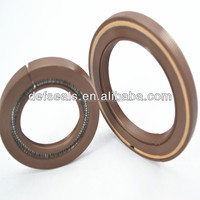 Split skeleton oil seal