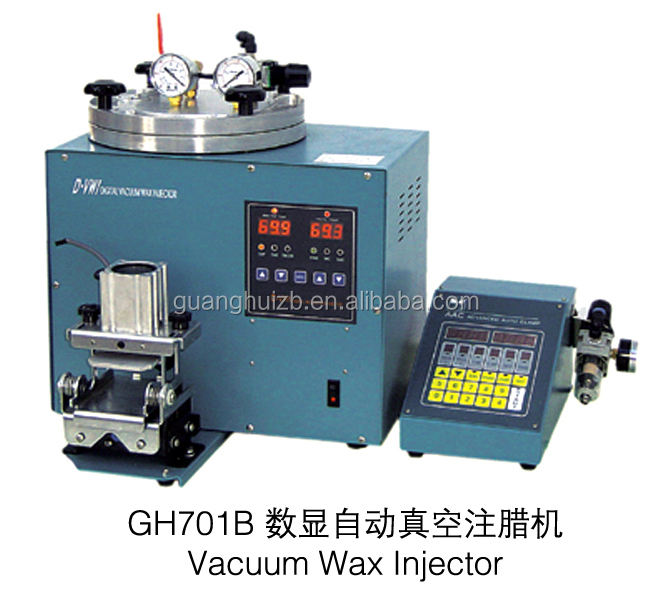 Hot Sale Jewelry Digital Wax Injection Machines Vacuum Wax Injector