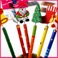 Wholesale advertisement stationery Christmas gift 2B promotional pencil for suppliers in dubai