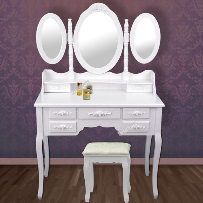 hotsale classic wooden dressing table