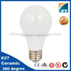 Unique designed SMD E27 led bulb 6W Dimmable driver,3 years warranty