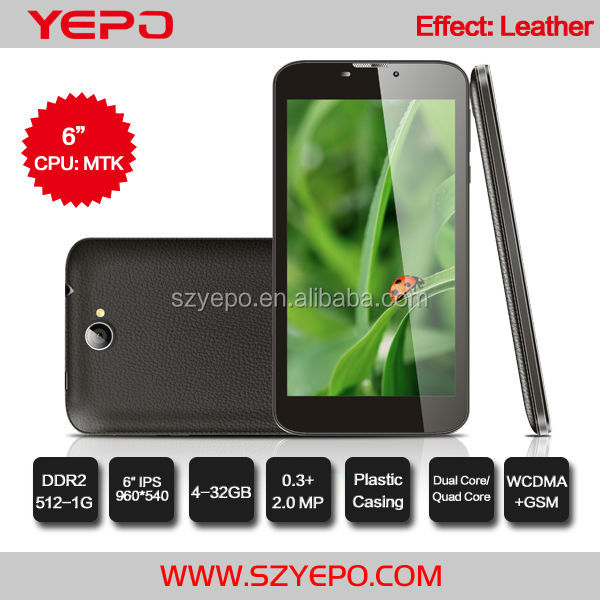 Leather Casing MTK 8312 7 inch Tablet PC WIFI GPS TV Mobile Phone