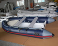 Factory hot sale small semi-rigid boat