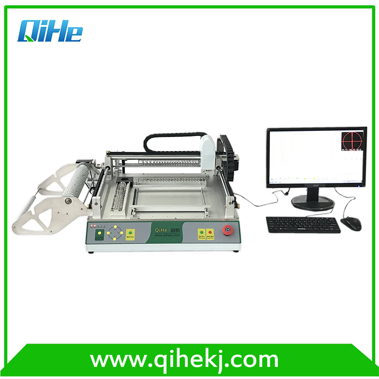 Reliable quality led production line smt p&p machine with high voltage drice