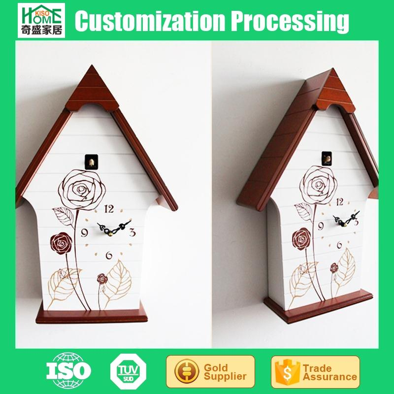The New Light Control Cuckoo Chime Cartoon Clock