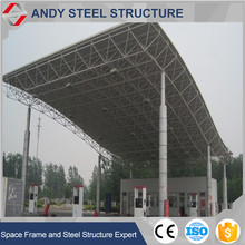 High Anti-rust Performance Steel Roof Truss for Gas/Petrol/Gas Station Shed
