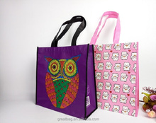 Large Recycled Laminated Printed PET Poly Bag