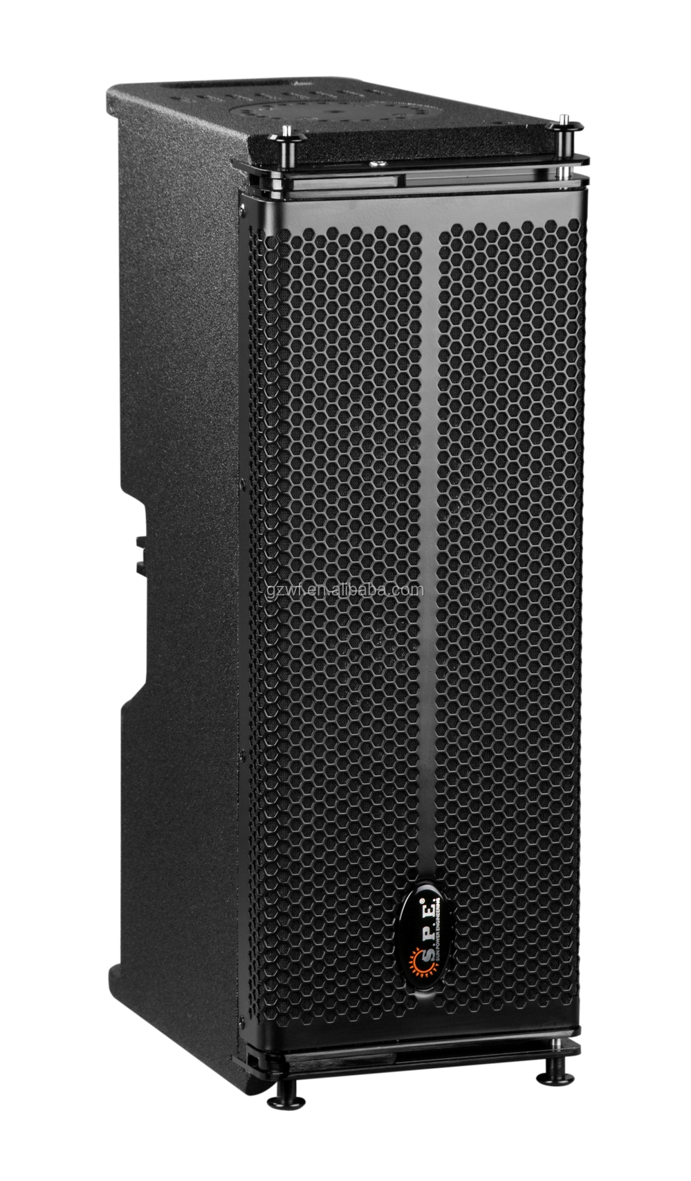 SPE Audio 300W Dual 6.5 inch Mini Portable Amplifier Speaker Line Array LA-1AD