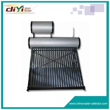 Evacuated tube brazil low pressure solar water heater price