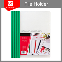 office Presentation document a4 clear PP plastic file folder with sliding bar reporting cover